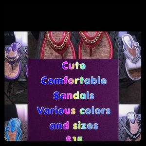 Shoes - Colorful and Comfortable Sandals
